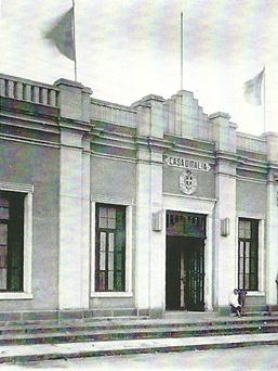 """A """"Casa D'Itália"""" - Inaugurada em 1937"""