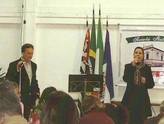 """Lançamento, no jantar italiano, do CD """"Grupo Salto de Música Italiana"""""""